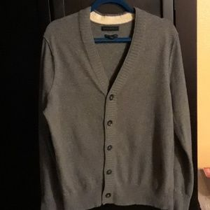 BANANA REPUBLIC ITALIAN WOOL CARDIGAN L